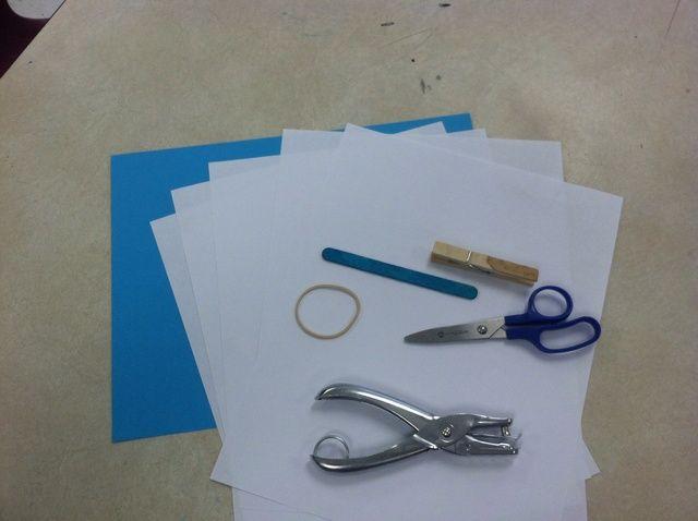 Cómo hacer un cuaderno de bocetos