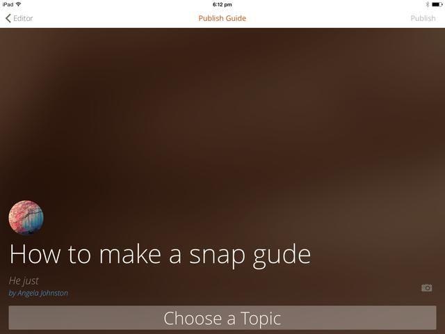 Ahora usted tiene que elegir un tema. Haga clic en elegir un tema que está en la parte inferior.