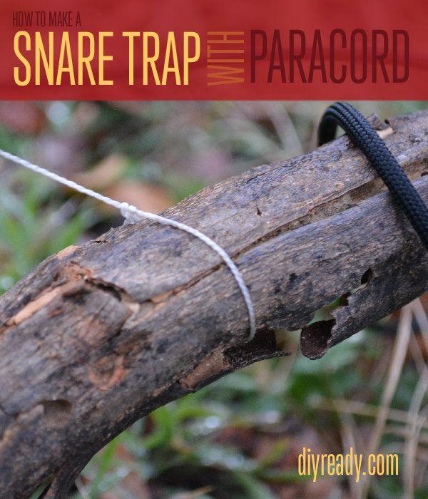 Fotografía - Cómo hacer una trampa trampa con Paracord