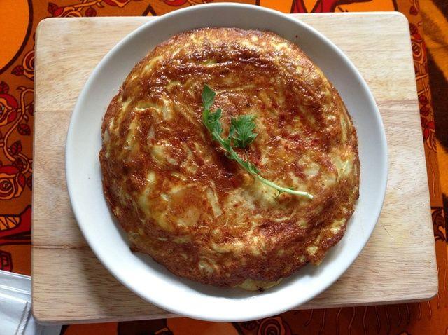 Cómo hacer una receta de tortilla española