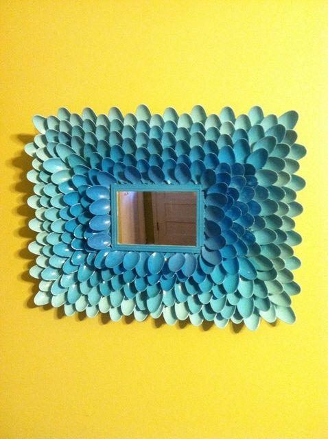 Cómo hacer un arte Espejo Cuchara