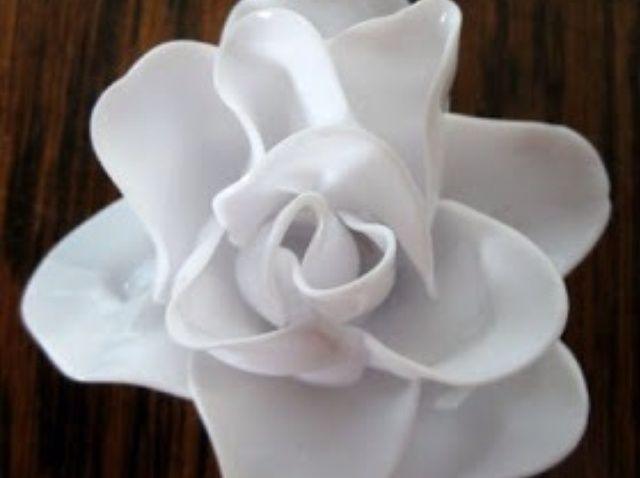 Cómo hacer una rosa Cuchara