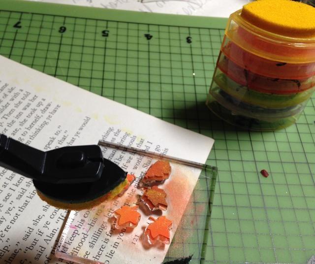utilizar ColorBox Stylus y Consejos para aprovechar en algunas tintas de pigmento escarlata y Canarias