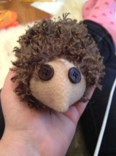 Cómo hacer un relleno Hedgehog