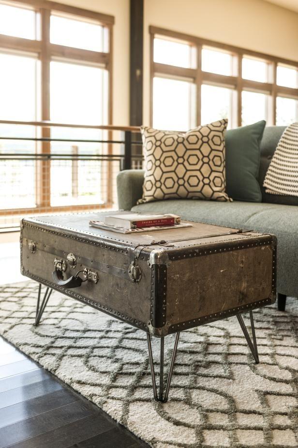 Fotografía - Cómo hacer una mesa de café maleta
