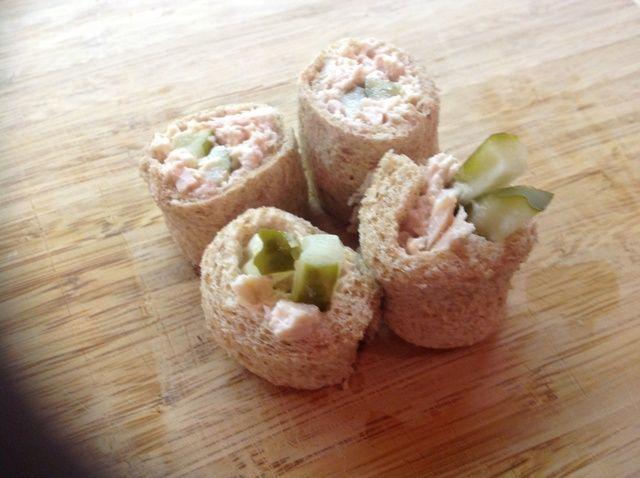 Cómo hacer un sándwich Receta Sushi-Style