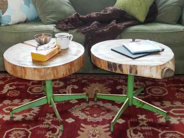 Fotografía - Cómo hacer una tabla con un registro y viejos patas de la silla