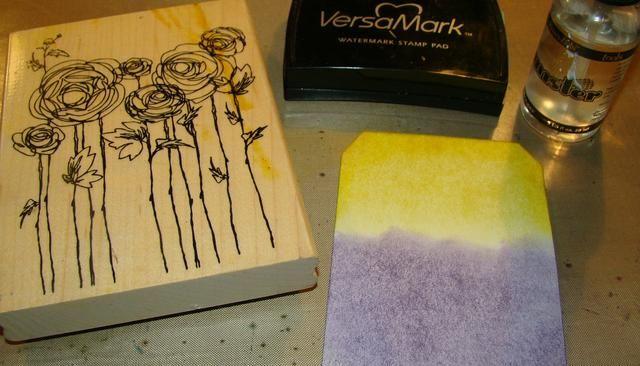 Selle su imagen en el cojín Versmark y luego rocía con agua.