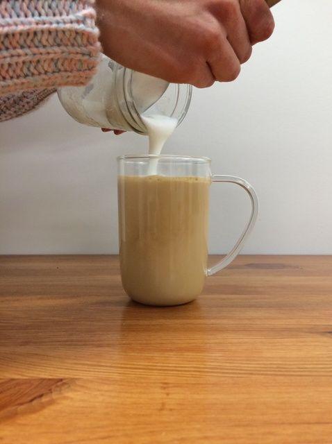 Cómo hacer una Receta Tea Latte