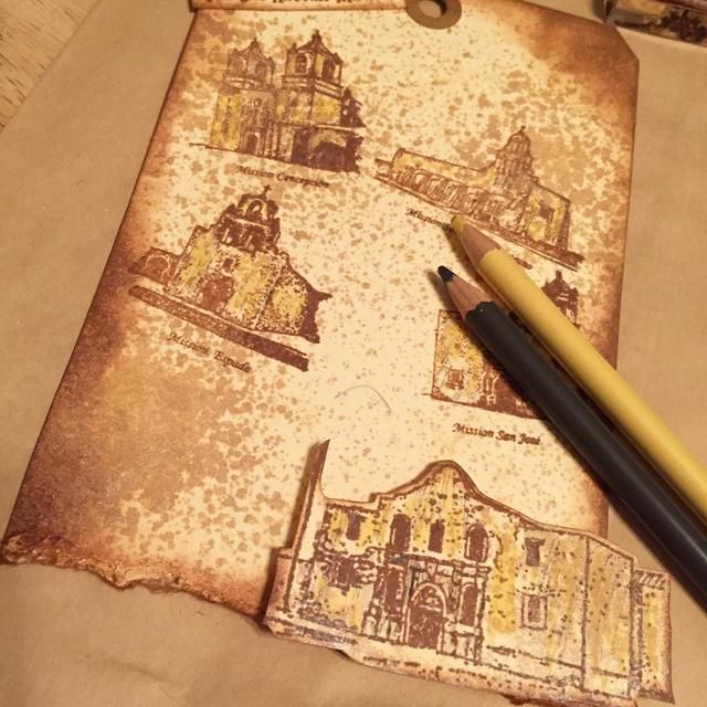 añadir color a los diseños utilizando lápices