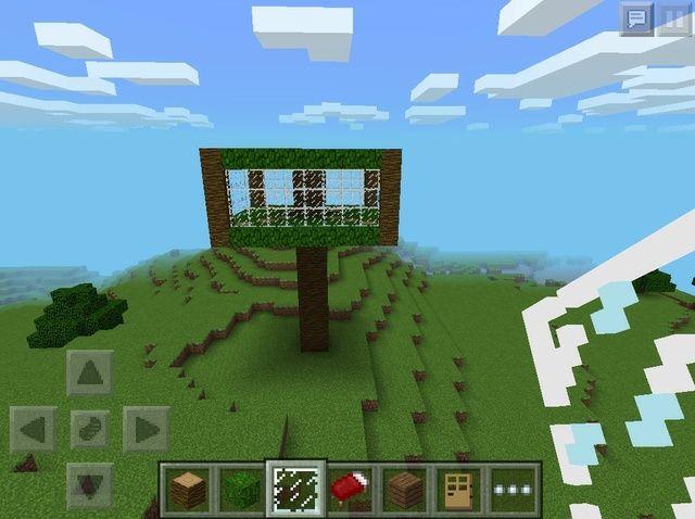 Cómo hacer una casa de árbol en Minecraft
