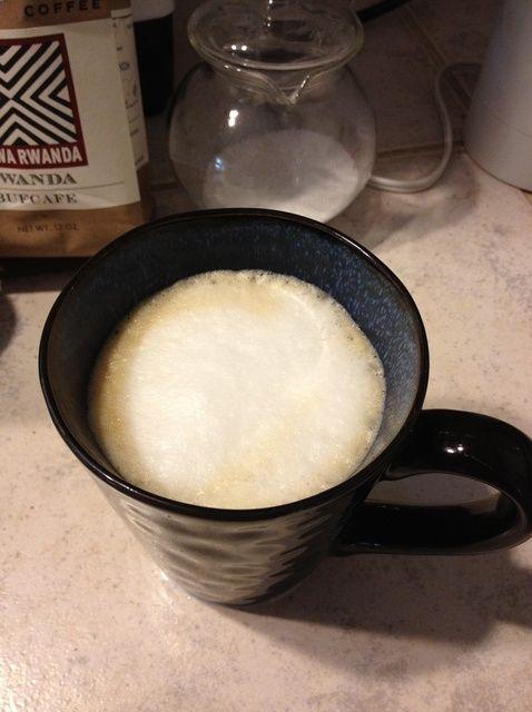 Cómo hacer un Vanilla Latte Usando Inbru y una receta Aeropress