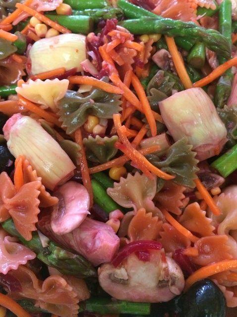 Cómo hacer una ensalada de verduras Receta de Pasta