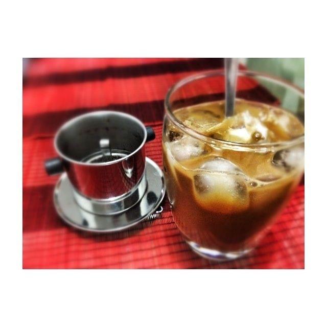 Esto es todo .... Hielo vietnamita Café o Ca Phe Sua Da ....