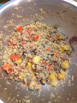 Añadir sal de trufa al gusto y servir!