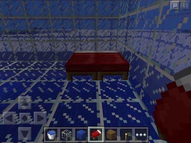 Coloque la cama y reemplazar la madera con vidrio