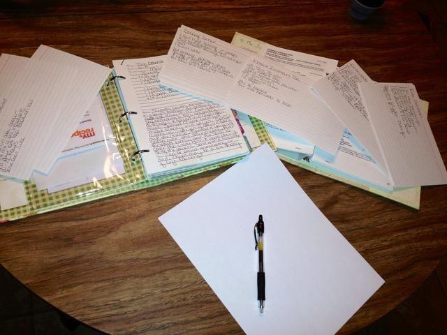 Reúna todas sus recetas un lápiz y una hoja de papel. Asegúrese de imprimir todas las recetas al final del tutorial si usted está usando este plan.