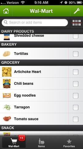Haga una lista! Yo uso una aplicación en mi teléfono llamado MyShopi. También he utilizado Nuestros Abarrotes. Me gusta que uno también.