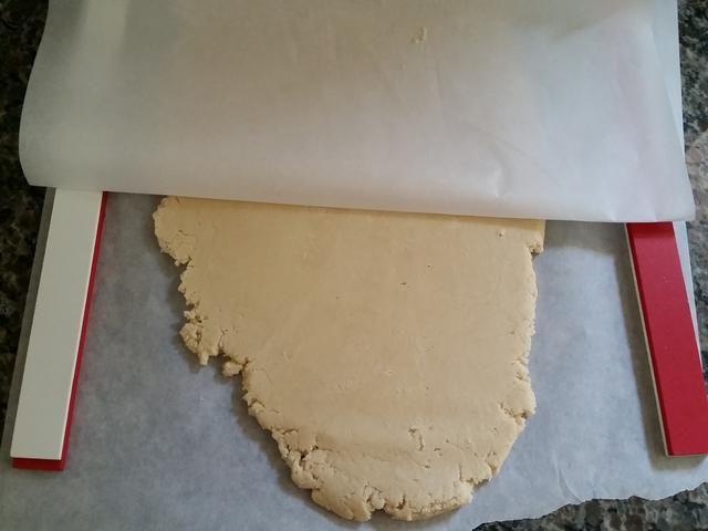 Azúcar rollo de galletas de masa media