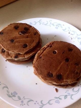 Panqueques se hacen cuando marrón en ambos lados o bien cocidas medio