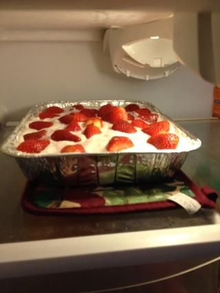 Paso 11: torta Guarde en el refrigerador. Coma cuando quiera que te gusta.