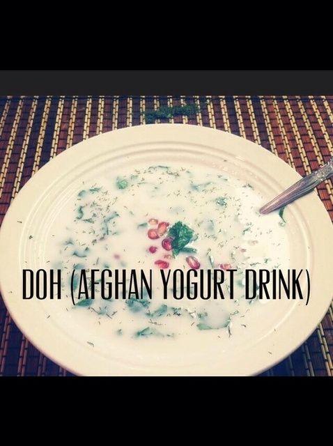 Cómo hacer una receta de la bebida afgana Yogur