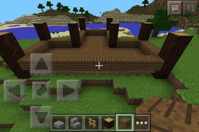 Ponga tablones de madera en la parte superior de las vallas.