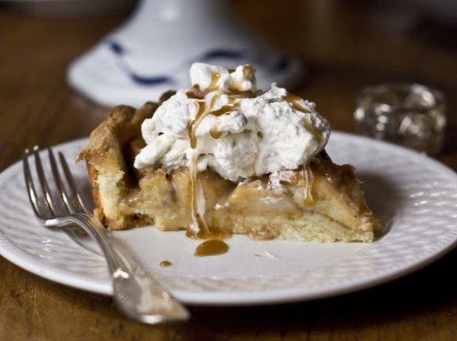 Cómo hacer una receta de Apple de caramelo Tarta