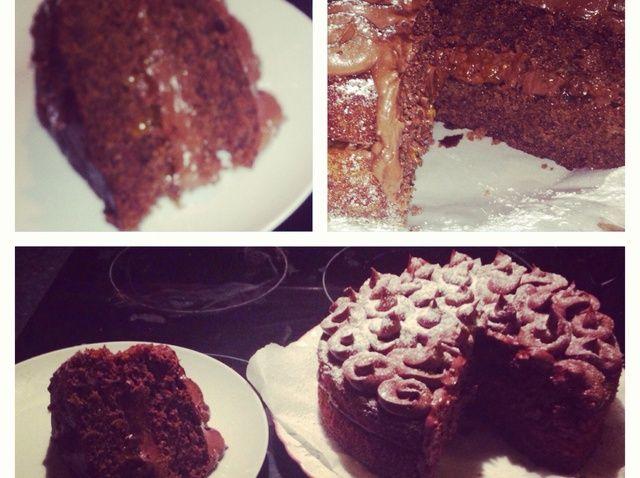 Cómo hacer una receta de pastel de chocolate Fácil