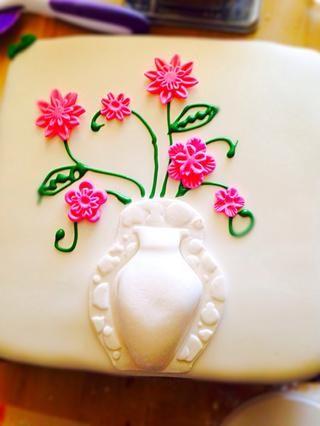Algunos ejemplos en los que utilicé las flores