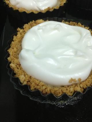 Saque el merengue en los pasteles