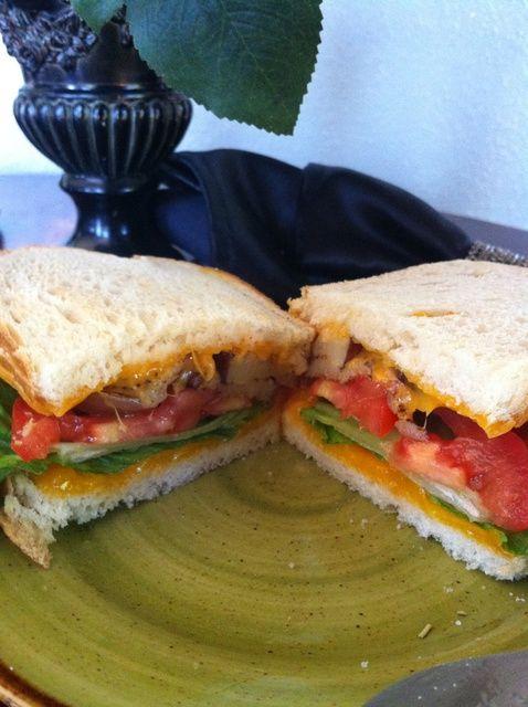 Cómo hacer un sándwich Receta Berenjenas