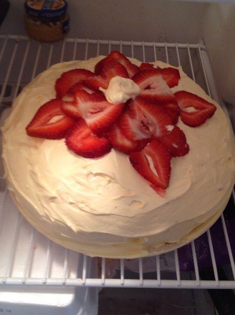 Cómo hacer una receta de pastel de queso pastel de fresa Extreme