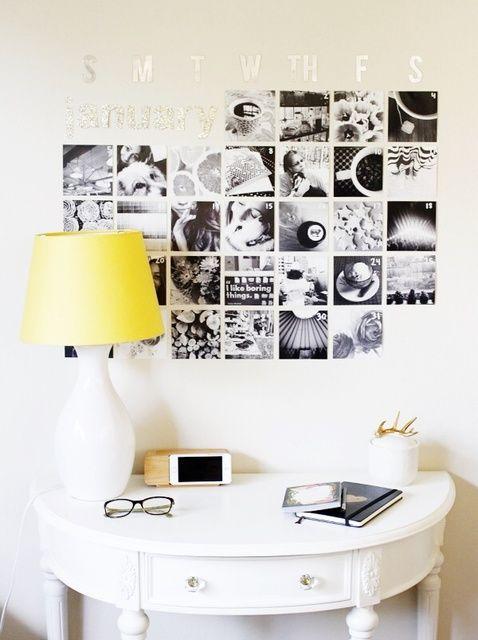 Fotografía - Cómo hacer un calendario de Instagram