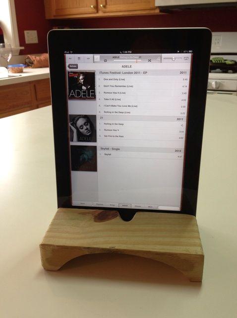 Cómo hacer un iPad Soporte con el altavoz del amplificador Natural