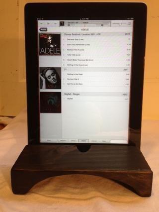 Mi Ipad, interferencia con Adel sentado en mi costumbre iPad / iPhone amplificada natural hablar de un trozo de madera. ¿Cuánto $ dijiste ... no tiene precio! :)