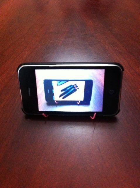 Cómo hacer un iPhone se destacan de un clip de papel