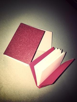 Una vez que domine esta técnica se pueden hacer diferentes tamaños y usar papeles con textura / patrón.