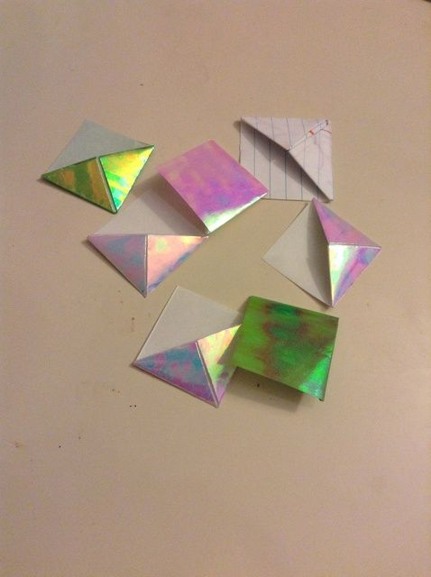 Cómo hacer un Origami Bookmark