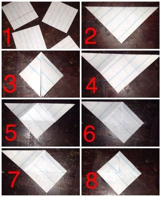 Pequeña guía de imagen Fácil. Con el papel aglutinante.