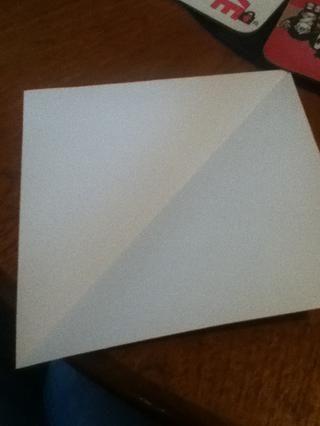 Desdoble el triángulo de manera que's a square