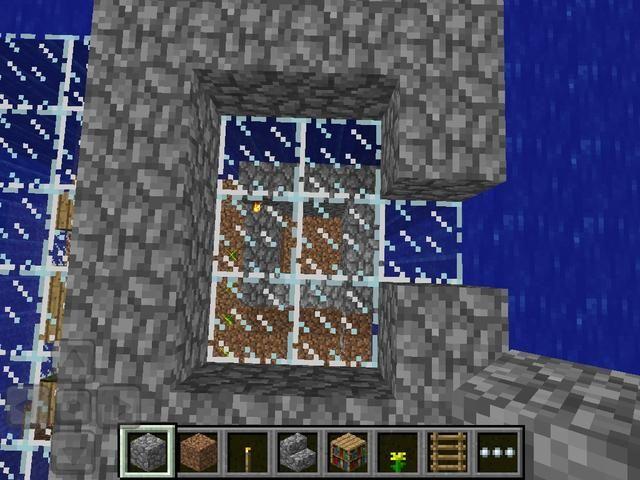 ¡Me gusta esto! Tallar el interior de su marco que's on the roof until you reach the bottom frame, or dig deeper if needed.
