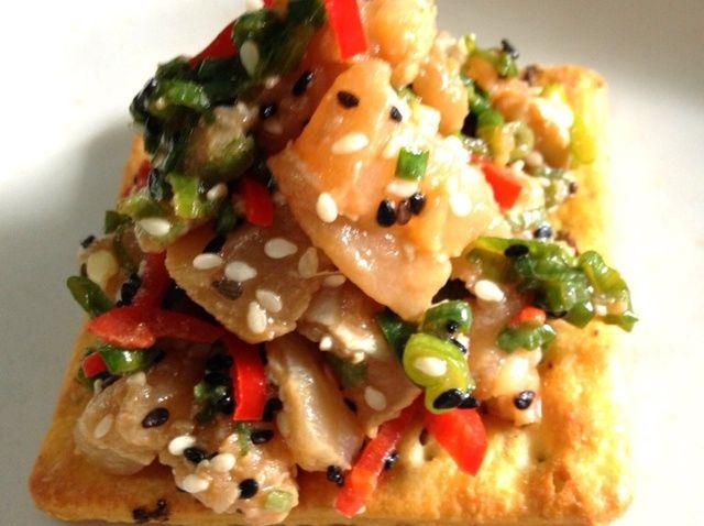 Cómo hacer asiática Tuna Tartare Inspirado Receta