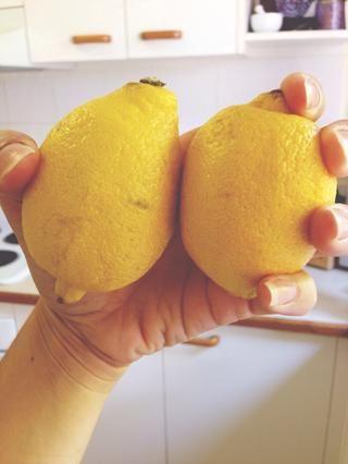 Añadir el jugo de dos limones (un limón si usted no't want it so tangy).