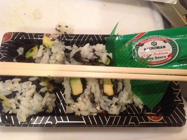 Cómo hacer Aguacate Sushi Receta