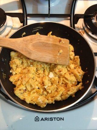 Cocine hasta 80% en seco y se rompen en pequeños trozos.