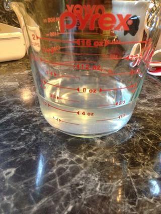 Recuerde que el agua 1/2 taza (en realidad 2/3 taza siento ??????) sacamos? Así que's time to use it. Thats flavor ��☺