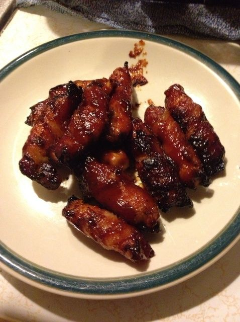 Cómo hacer tocino barbacoa de pollo Receta