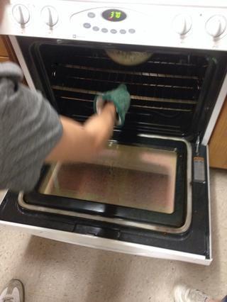 ponerlo en el horno precalentado y cocinar durante 40 minutos