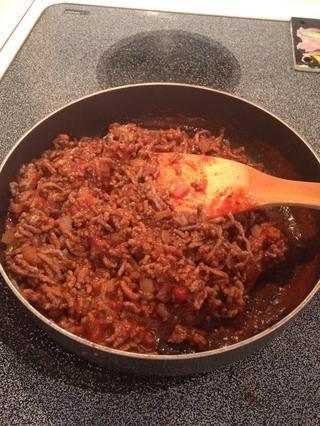 Revuelva bien y cocer 5-10 minutos, hasta que la salsa esté caliente y burbujeante.